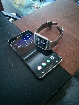 Note 3 and Galaxy Gear Together